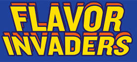 Flavor Invaders Title